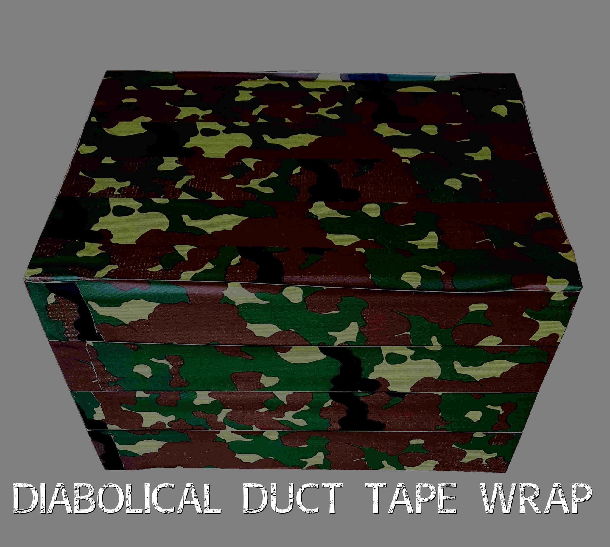 Diabolical Duct Tape Wrap This Is A Crate Add On Please Select It At Checkout For An Additional R60